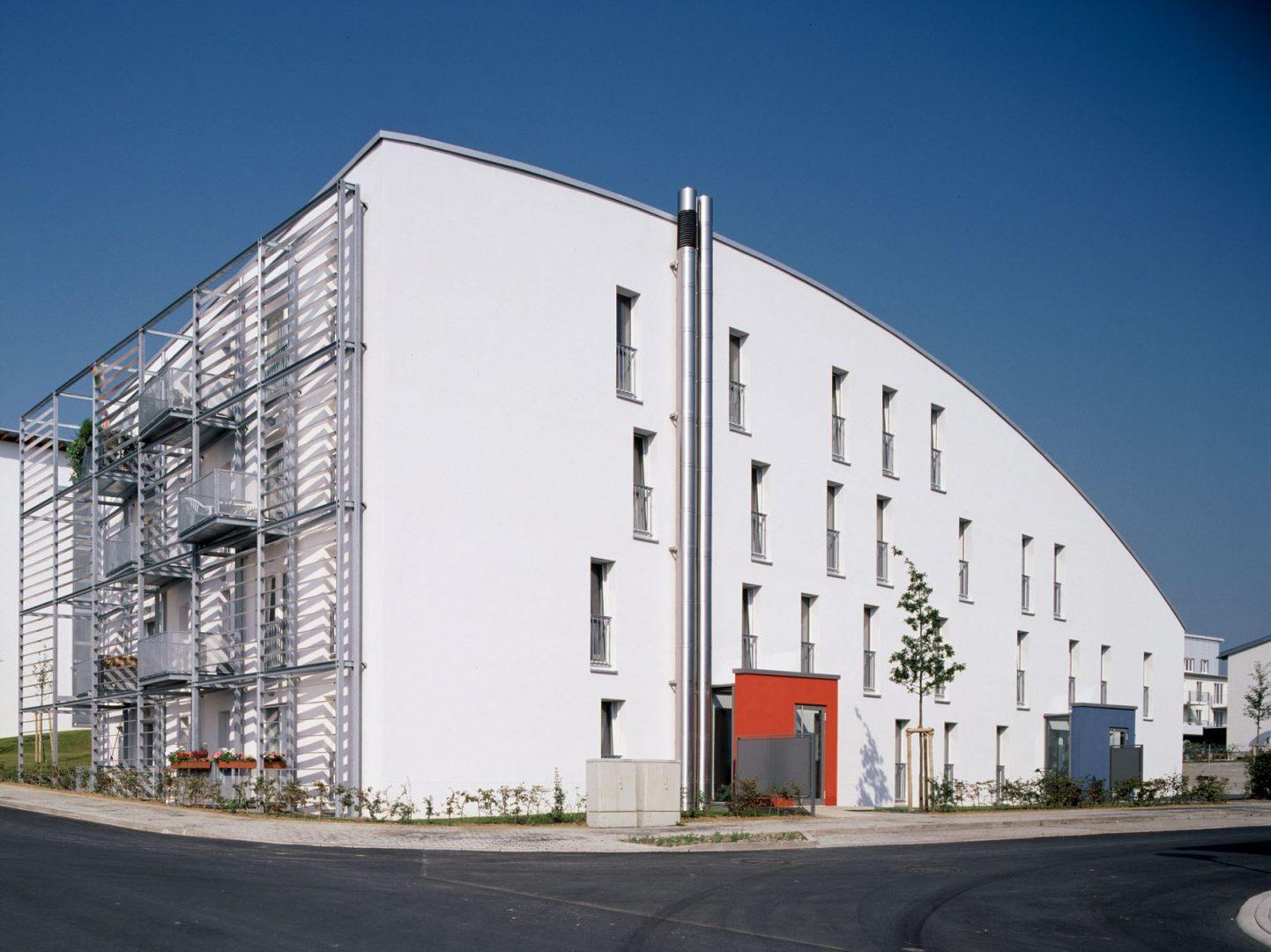 Süd-Ost-Fassade