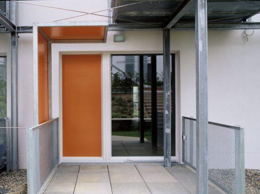 Terrasse orange
